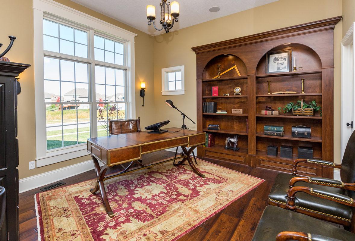 Productive Home Office - Builder Blueprint